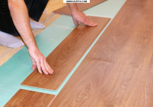 Как положить ламинат на деревянный пол