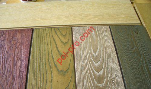 Окраска деревянных полов
