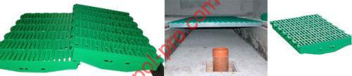 Пластиковые щелевые полы