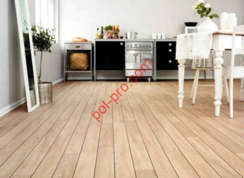Деревянный пол на кухню