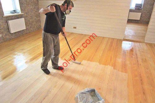 каким лаком покрыть деревянный пол