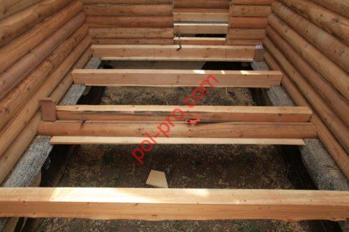 Обустройство деревянных полов