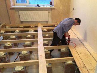 деревянные полы в частном доме