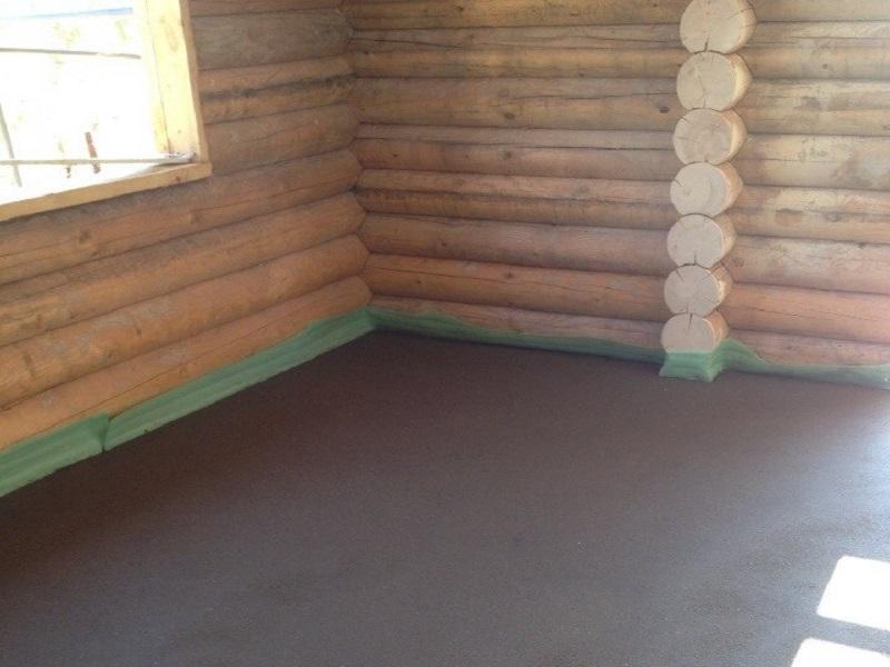 стяжка деревянные полы