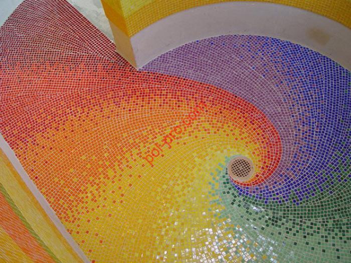 Полы из мозаики